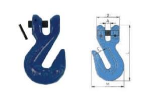 Укорачивающий крюк вилочного соединения