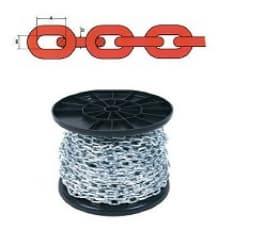Короткозвенная цепь DIN-766