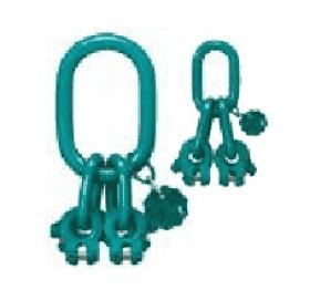 Звено с вилочным соединением для 3-4 ветв. цепных строп